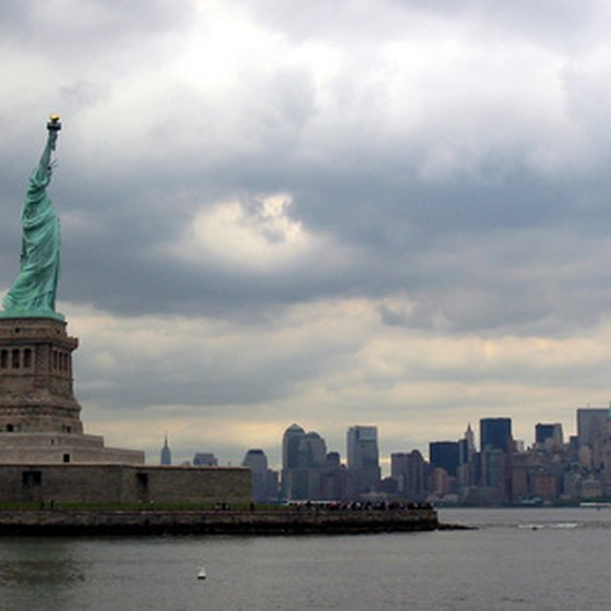 The Statue of Liberty is a longtime tourist attraction.
