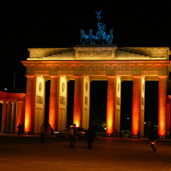 Walk through the Brandenburg Gate on a tour around Germany.