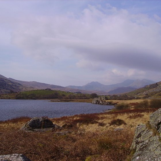 One of the scenic views at Snowdonia National Park in Wales.
