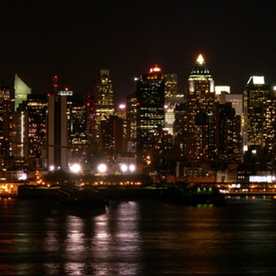 City Sights offers a night bus tour of New York City.