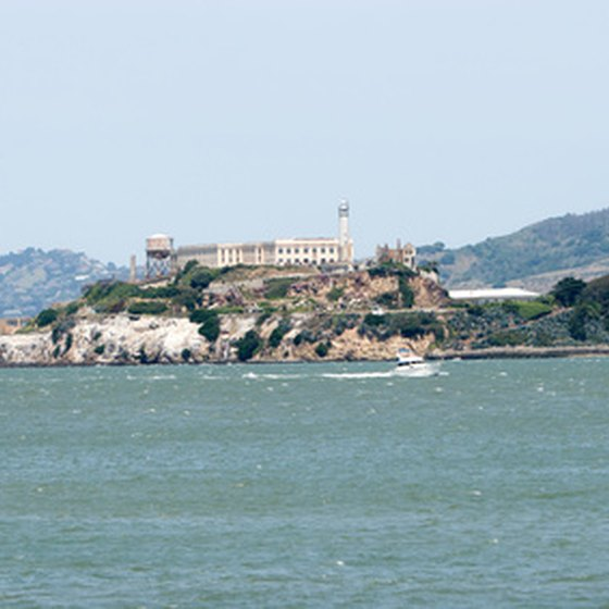 Alcatraz is a fascinating historic landmark on the West Coast.