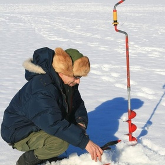 First-time ice fishers would especially benefit from a guided tour, as this activity requires specific knowledge and skill.