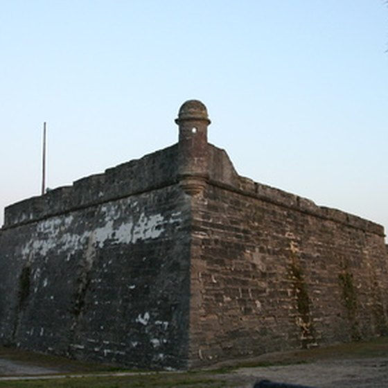 Florida contains some of the oldest historical monuments in the United States.