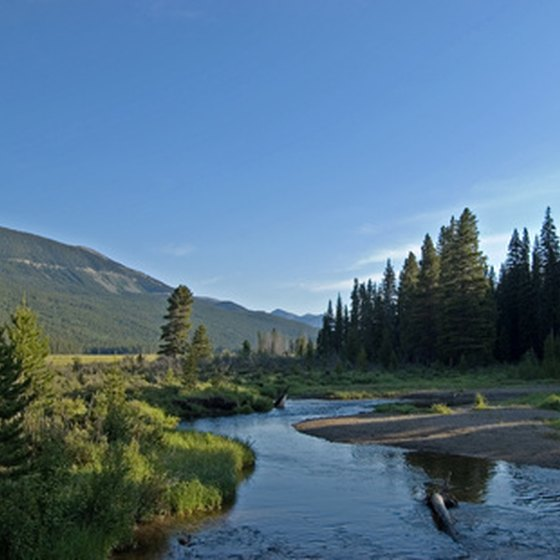 The San Juan National Forest wraps around three sides of Pagosa Springs.