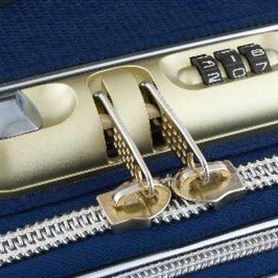 Bring along luggage with a lock to protect your valuables.