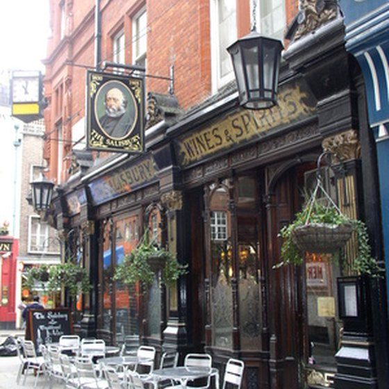 Fancy a delicious pint in many of the merriest old pubs in London.