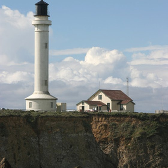 Port Arena Lighthouse near Fort Bragg, CA