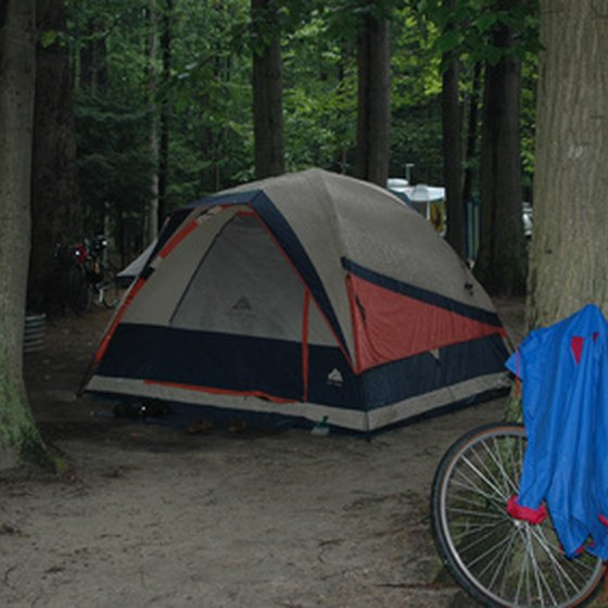 Ozark Trail tents are easy to set up.