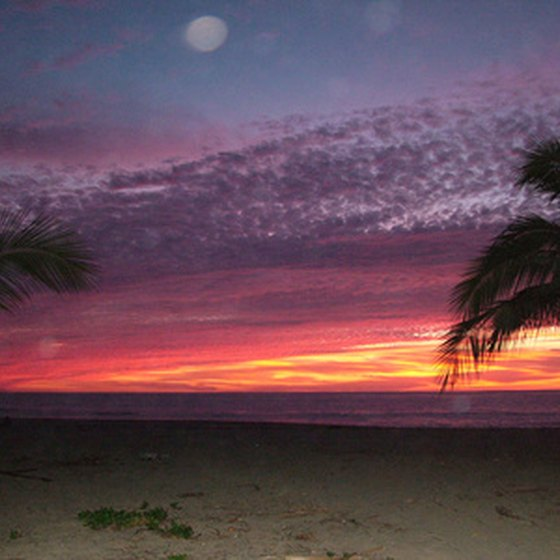 Visitors can watch the sunset over the ocean from their Long Beach campsite.