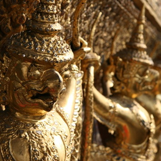 Bangkok's huge, ornate temples are among its best sights.