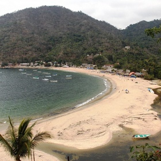 The Mexican Riviera is home to many isolated beaches.