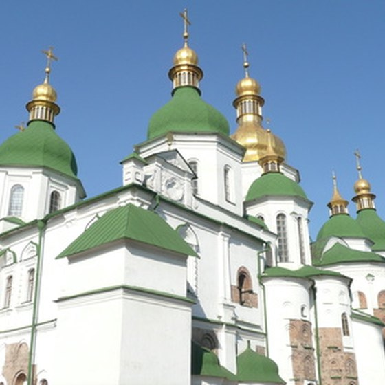 St. Sophia's Cathedral, Kiev, was voted to be one of the Seven Wonders of Ukraine in 2007.