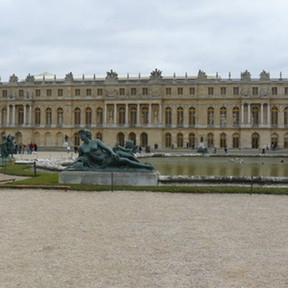 Palace of Versailles, back view