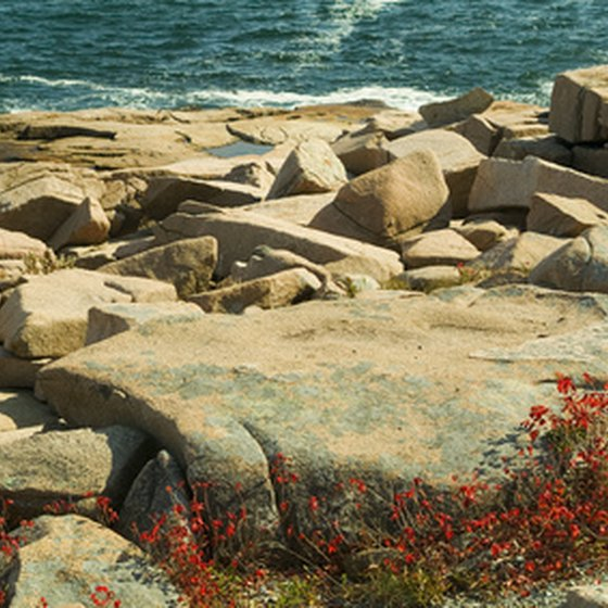 Maine's rocky coastline leaves room for only a few sandy beaches.