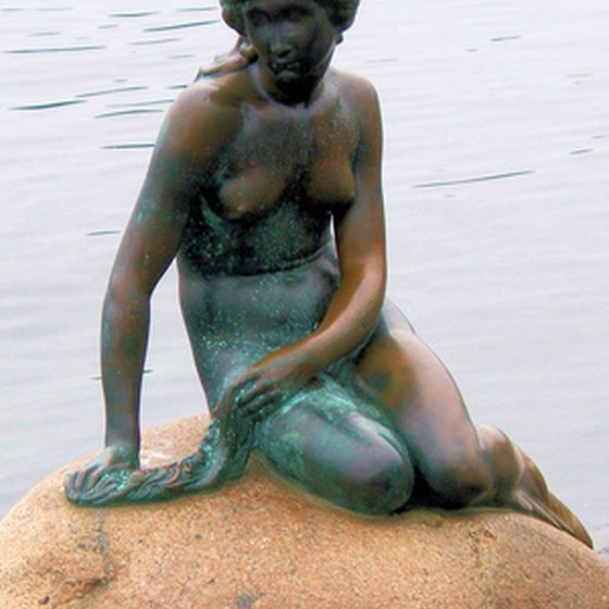 The Little Mermaid is one of many places to visit in Copenhagen, Denmark.