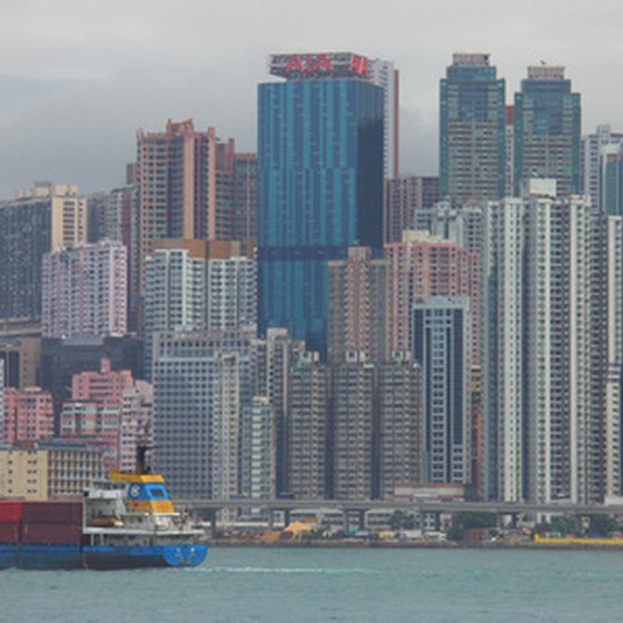 Hong Kong is renowned for its expansive skyline.