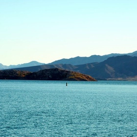 Lake Meade is the center of Las Vegas diving.