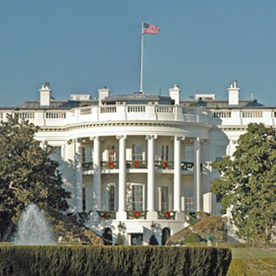 There are a number of hotels within walking distance of the White House.