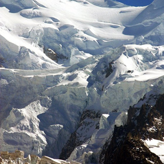 Glaciers attract many visitors for the many outdoor activities.