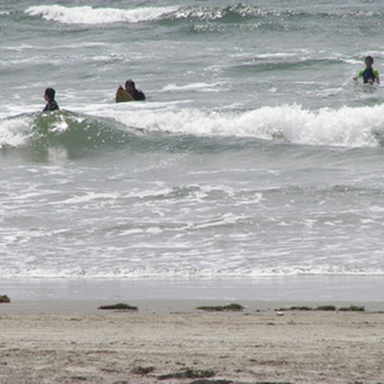 Surfers in Mexico.