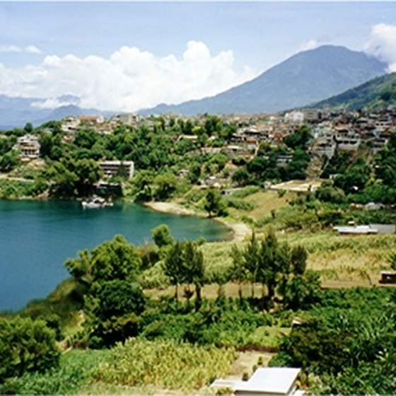 Lake Atitlan is a popular destination for budget travelers.