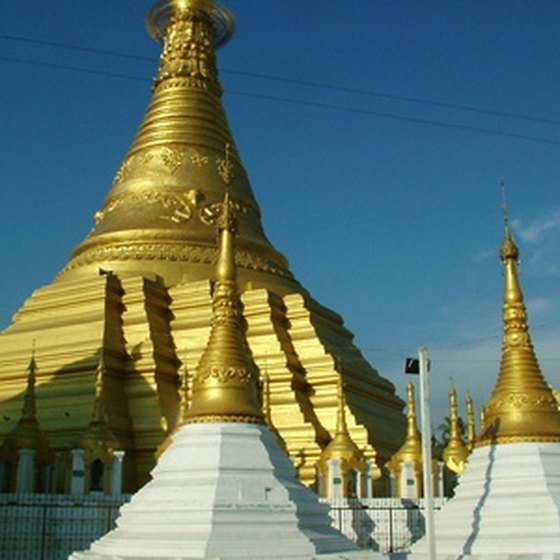Buddhism influences many of the customs of Myanmar.