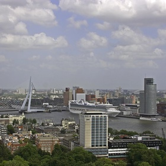 Rotterdam in Holland is the world's largest seaport.