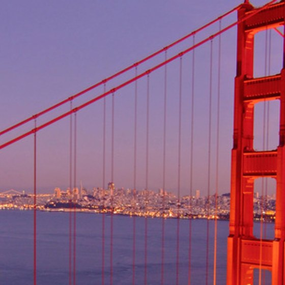 San Francisco's Famous Golden Gate Bridge