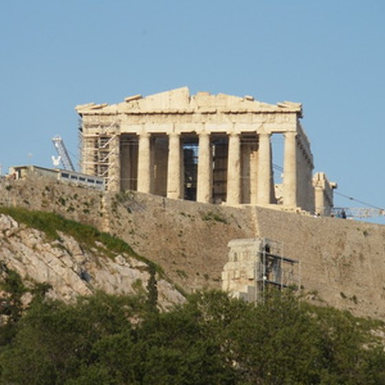 The Acropolis is one of the major tourist attractions in Athens.