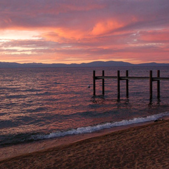 Enjoy Lake Tahoe's sunsets aboard a dinner cruise.