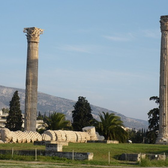 Athens, Greece, is full of historical sites for travelers to see.