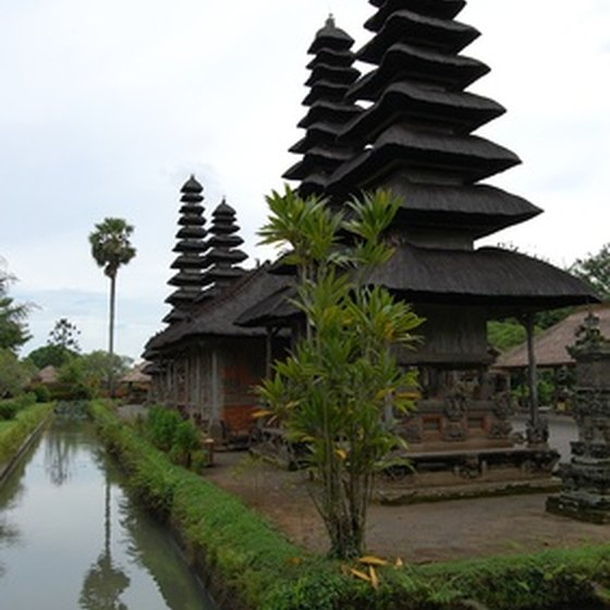 Bali's Hindu temples are among its foremost attractions.
