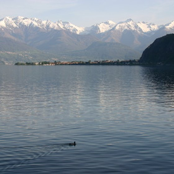 Lake Como is one of Italy's most popular summer resorts.