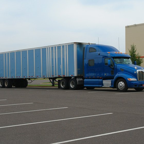 Hotels and motels that cater to truckers tend to have large parking lots.