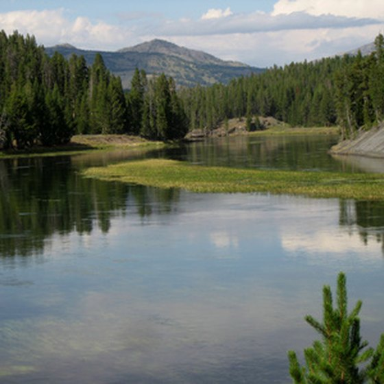 Yellowstone River RV camping ranges from primitive to luxury.