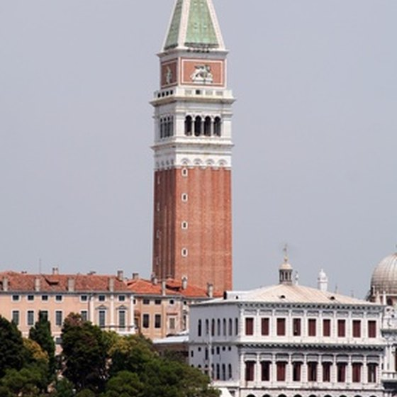 A tour of Italy often brings visitors to Venice.