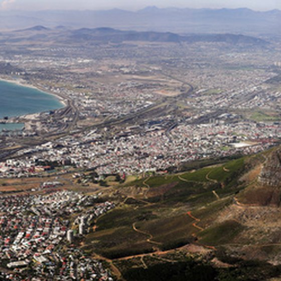 Cape Town's sweeping coastline beckons international visitors.