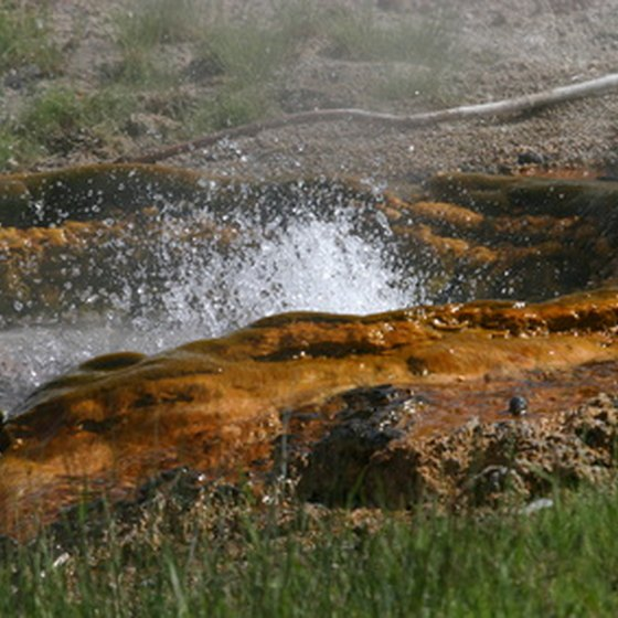 Yellowstone offers hiking, camping, biking, fishing, boating and other attractions.