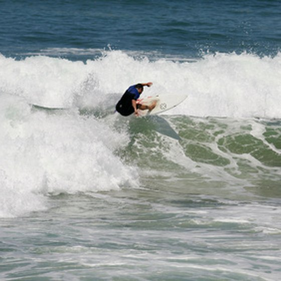 Surfing in Ixtapa