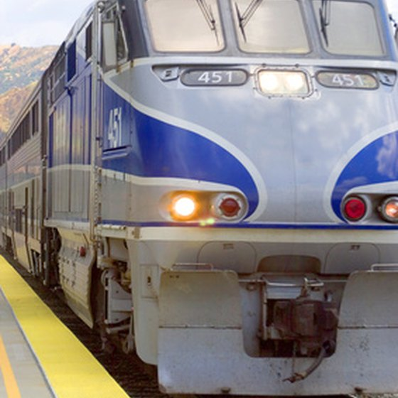 Train travel on the West Coast is a relaxing way to see Washington, Oregon and California.