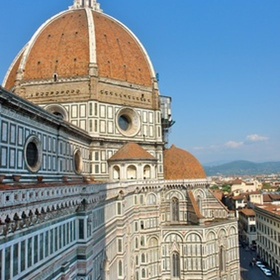 The Duomo in Florence, Italy, is one of dozens of sites seen duirng day tours of the city.