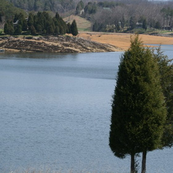 Douglas Lake in Tennessee has excellent fishing for anglers year-round.