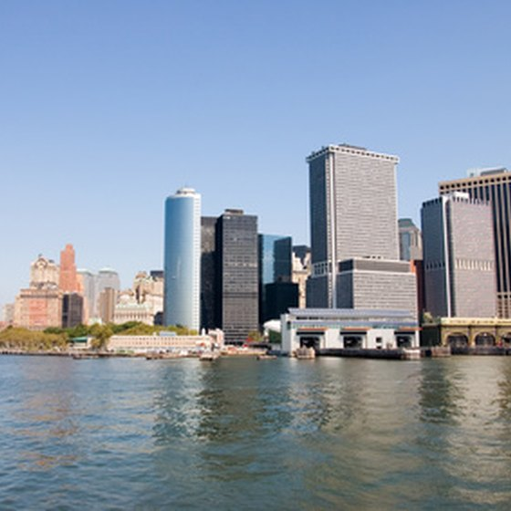 Get a new perspective from a New York sightseeing cruise.