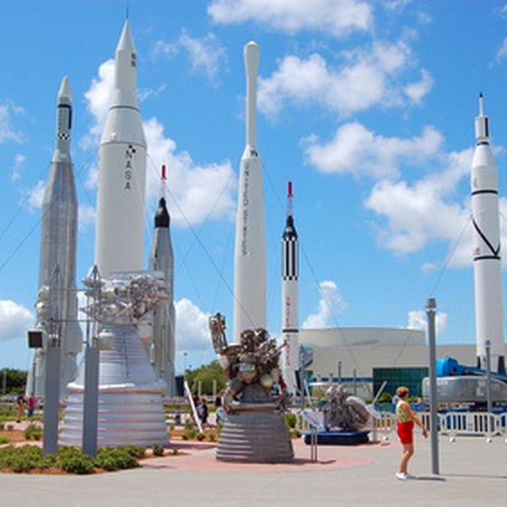 NASA's Kennedy Space Center is just a short distance from Cocoa Beach.