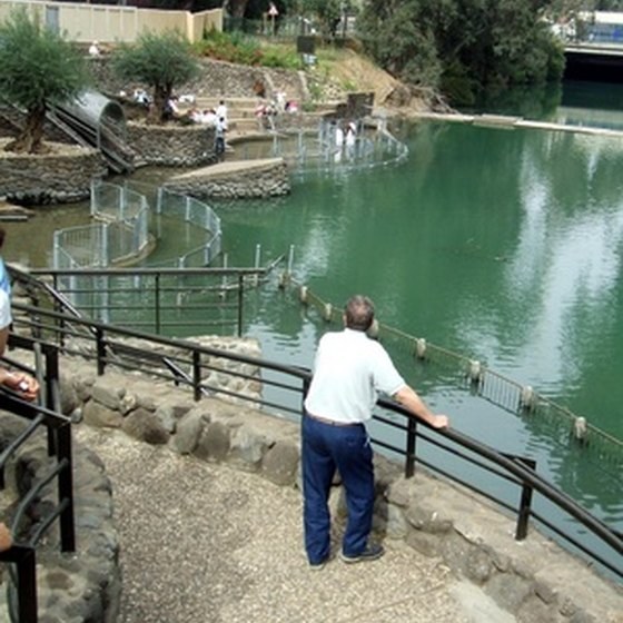 Most Christian tours of Israel spend some time at the Jordan River.