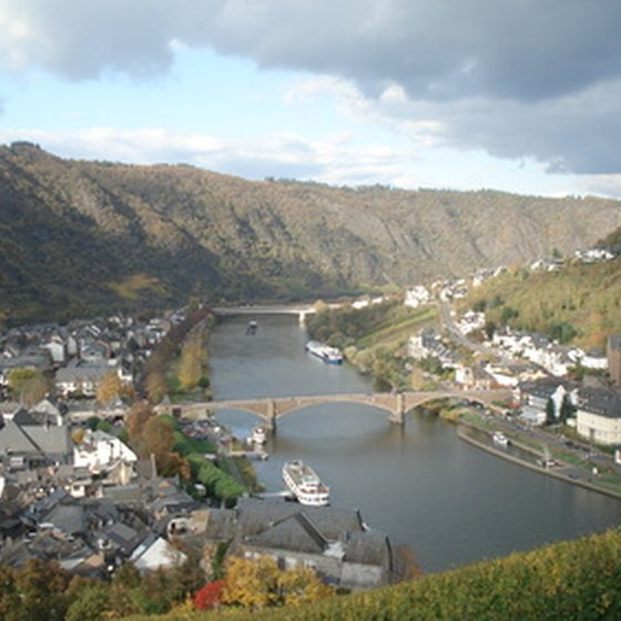 The Mosel Valley is a popular stop on bike tours of Germany.