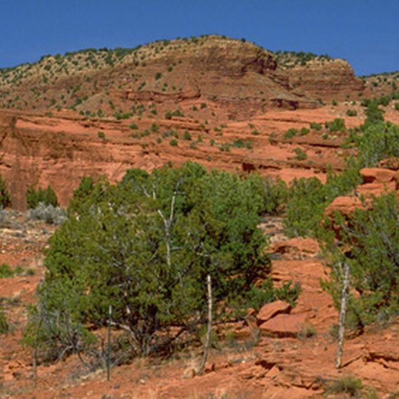 Sites such as Red Rock Canyon are located just outside of Las Vegas.
