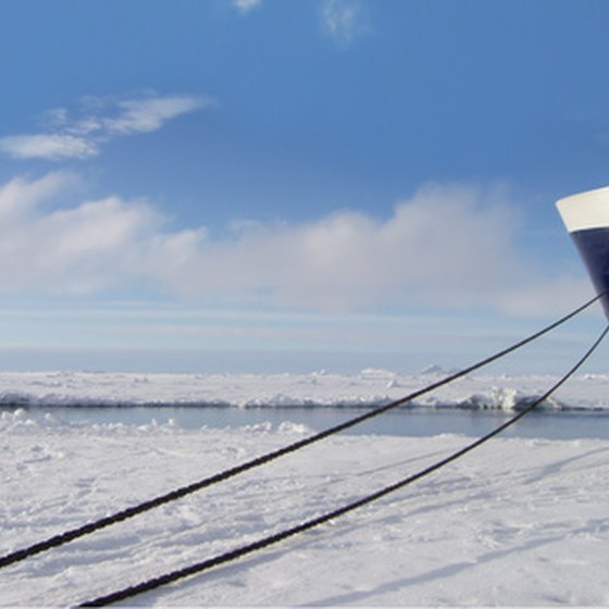 Cruises to Antarctica require special ships that can handle the ice.