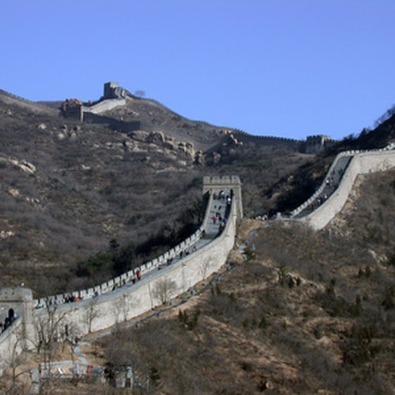 The Great Wall is considered one of the new seven wonders of the world.