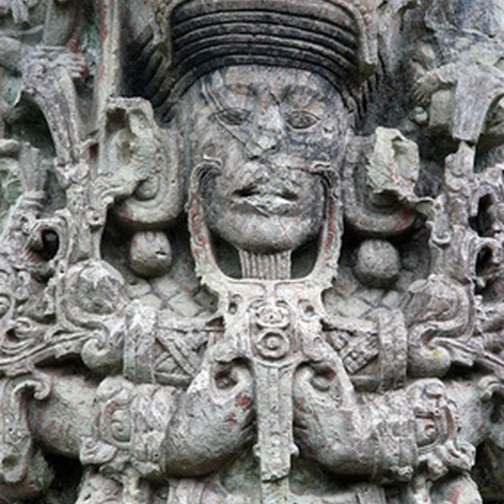 Copan boasts intricately-carved Mayan ruins.